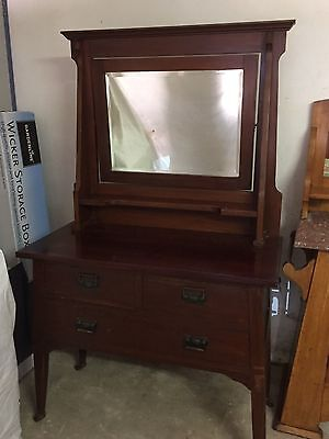 Antique Dressing Table (with mirror)