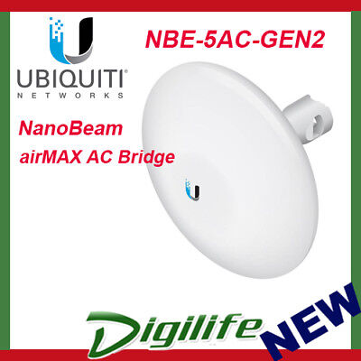 Ubiquiti Networks NBE-5AC-GEN2 NanoBeam High-Performance airMAX AC Bridge
