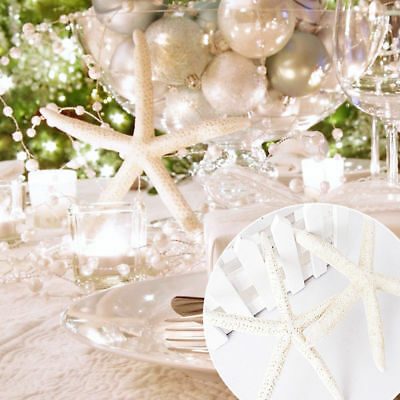 Starfish Natural Embellishments Shells Craft Beach Wedding Xmas Decor 1/5/10Pcs