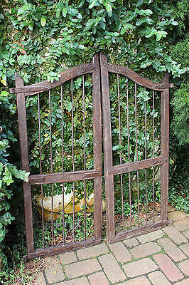 Gate Trellis Vintage Timber French Provincial Style Courtyard Garden Wall Art