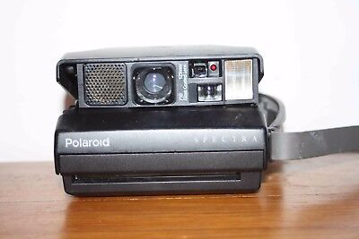 Polaroid Spectra Instant Film Camera F10 125mm Glass Coated Lens *Working*