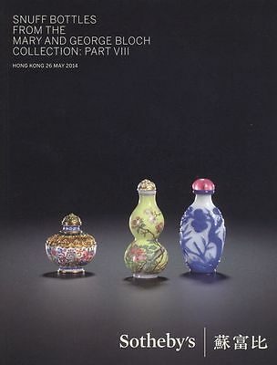 Sotheby's Catalogue Snuff Bottles  May 2014 HB