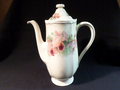 Royal Doulton. Orchid. Coffee Pot. D5215. Made In England.