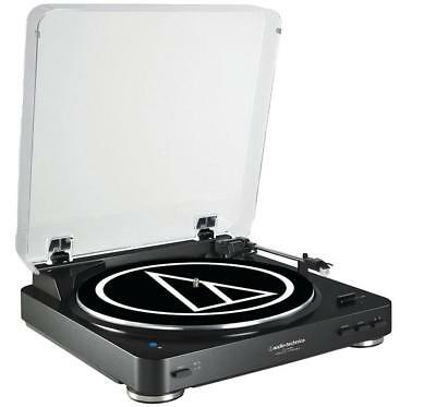 Audio-Technica AT-LP60WH-BT Automatic Wireless Belt-Drive Stereo Turntable Black