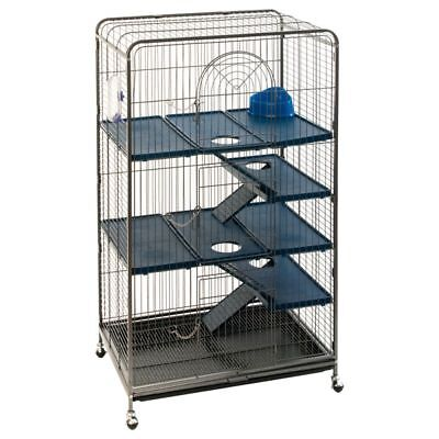3 Tier Large High Tall Cage Small Pets Rat Ferret Squirrel Chinchilla 140cm