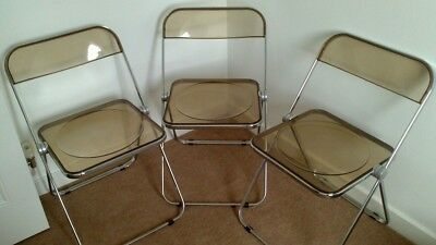 3 X Castelli Plia Folding Chairs