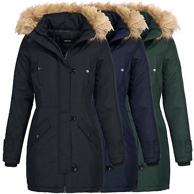 vero moda damen parka winterjacke kurzmantel damenjacke. Black Bedroom Furniture Sets. Home Design Ideas
