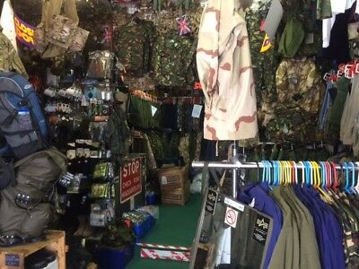 Army Surplus Business Opportunity Due To Retirement, All Stock, Fittings etc.