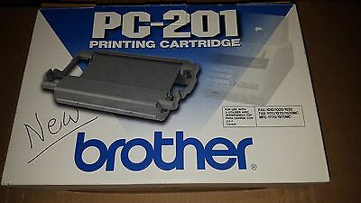 New Genuine Brother PC-201 PC201 Printing Toner Fax Cartridge  MFC-1770 1970MC