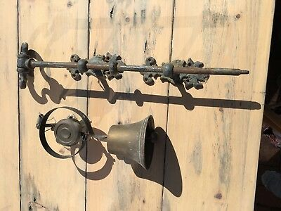 Antique Victorian Front Door/Servants Bell