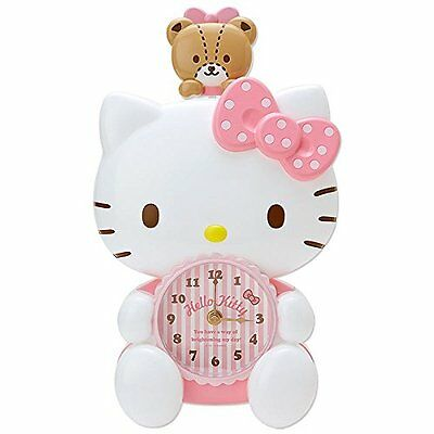 Sanrio Hello Kitty Character Shaped Pendulum Clock New W / Tracking F / S