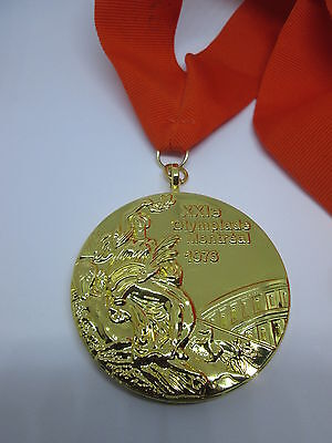 MONTREAL 1976 Olympic Replica GOLD MEDAL