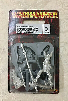 Warhammer Fantasy - High Elf Dragon Prince - RARE! UNOPENED!