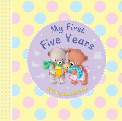 Baby Record Books My First Five Years (Padded)