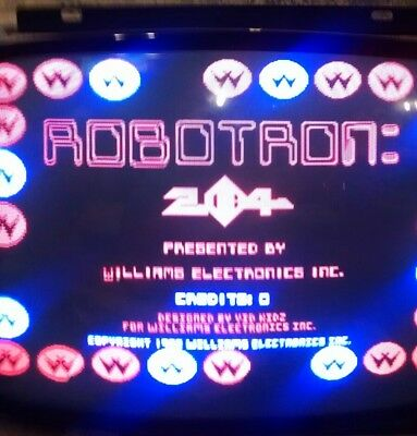Working Williams Robotron Rom Board