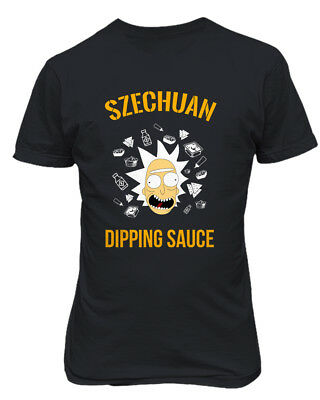 Ricky & Morty Szechuan Sauce McDonalds Mens & Youth T-Shirt