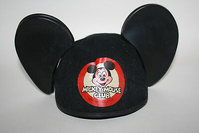 Vintage Disney Mickey Mouse Club Mouseketeers Hat Ears - Free Shipping