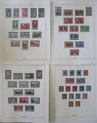FRANCE 1936 -1937 COLLECTION EXCELLENTE EN NEUF** COMPLET SF 2 SERIES °/bq411