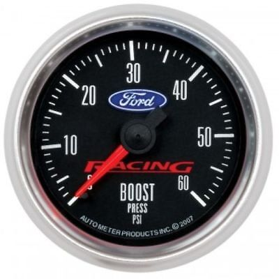 """Auto Meter 880106 2-1/16"""" Ford Racing Mechanical Boost Gauge, 0-60 PSI"""