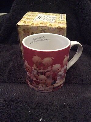 Enesco Precious Moments Coffee Mug FILL YOUR LIFE WITH PRECIOUS MOMENTS ~1995