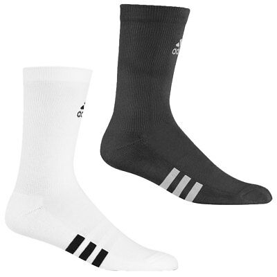 Adidas Golf 2017 Mens Single Compression Cushioned 3 Stripe Crew Socks