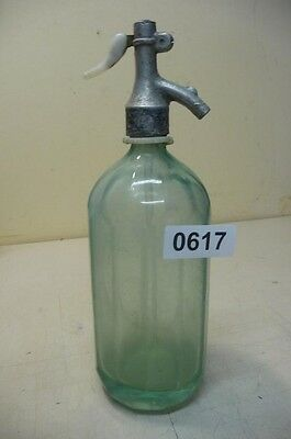 0617. Alte Sodaflasche  Siphonflasche 1 l Old soda siphon seltzer