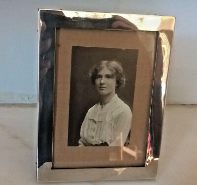 Antique Solid Silver  Picture Frame By William Neale-1918