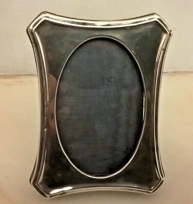 Antique Art Deco Solid Silver  Picture Frame By A & J Zimmerman -1920