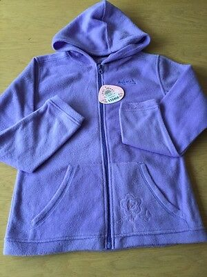 BNWT Girls Lilac Hooded Zipped Fleece By Regatta (11-12 Years) ***FREE UK P&P***