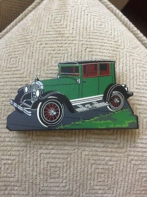 Shelia's 1916 Car, ACC37, Wooden Decoration Collectible