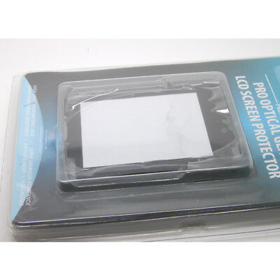 Hard Clear Optical Glass LCD Screen Protector Cover For Sony DSC-H20 NEW