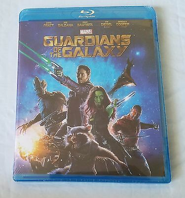 Guardians of the Galaxy (Blu-ray Disc, 2014) Brand NEW Marvel Sealed