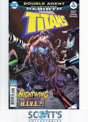 Titans  #15  New  (Bagged & Boarded)