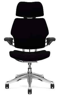 Groovy Humanscale Freedom Black Leather Aluminum Ergonomic Computer Ncnpc Chair Design For Home Ncnpcorg