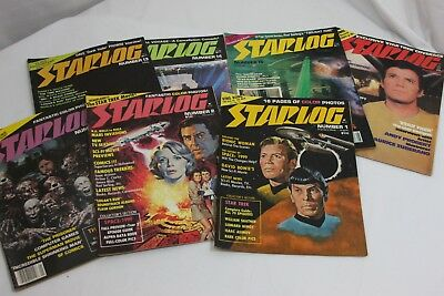 Starlog Magazine 1-166 Sci Fi Space Travel Star War ET 76 Issues