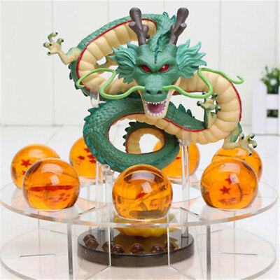 New Dragon Ball Z Shenron Action Figure Statue with Balls and Stand Shenlong