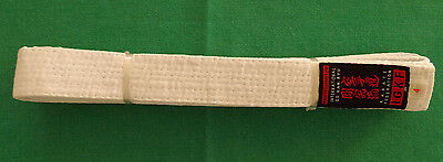 Karate Federation IGKF white belt made exclusively for GKR size 4