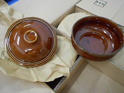 Stewpot/Casserole Dish with Lids Churchil15oz Rustics (6 in this lot)  ZCAGLSPT1