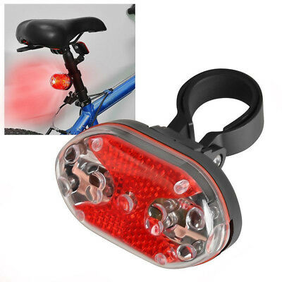 New Bright 9 LED Flashing Light Lamp Safety Back Rear Tail Bike Bicycle Cycling