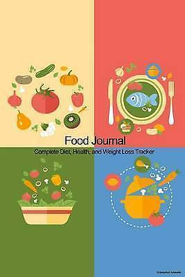 Food Journal Complete Diet Health Weight Loss Tracker - Co by Recordkeeper Press