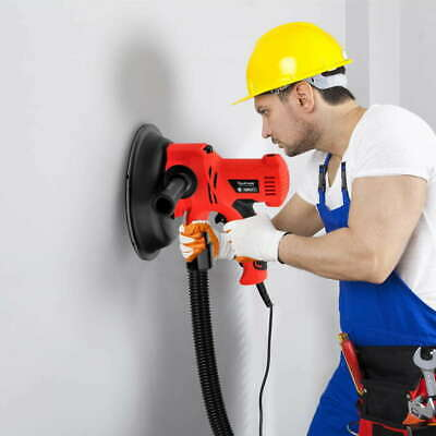 6 Speed Extendable Drywall Sander Dust Free Sanding Tool Extend Ceiling Sand NEW