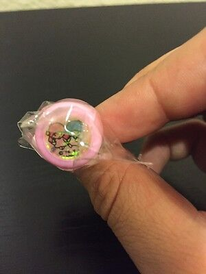 New Vintage Sanrio 1993 Collectible Little Twin Stars Stamp Ring
