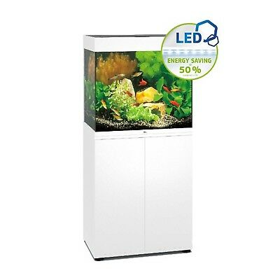 LED White Aquarium Cabinet SBX Kit Lido 120 Aqua Heat 100 Watt Heater UK