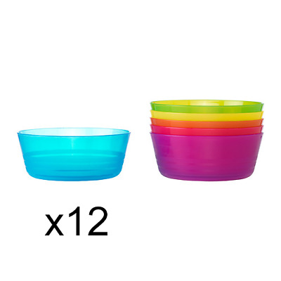 IKEA Plastic Bowls for Baby, Party, Camping, Picnic, Travel Bulk Lot Brand New