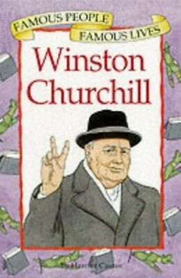 Winston Churchill (Famous People, Famous Lives) by Castor, Harriet Hardback The