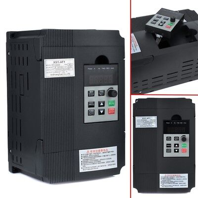 3HP Frequenzumrichter Variable Frequency Driver Inverter VFD 2,2KW 220V 3phase