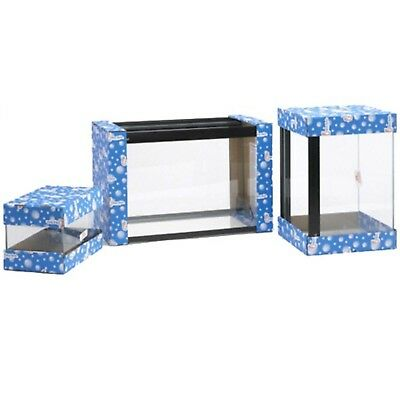 All Glass Tank Clear-Seal Aquarium 24x15x12 Plain Glass Aquariums Indoor Aquatic