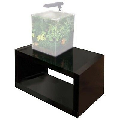 Stand Gloss Black - Small Nano 32 x 32 x 54.5c Indoor Aquatics Fluval Edge