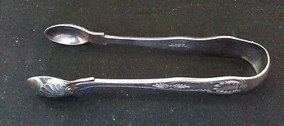 VINTAGE EPNS SUGAR TONGS 5 inches approx