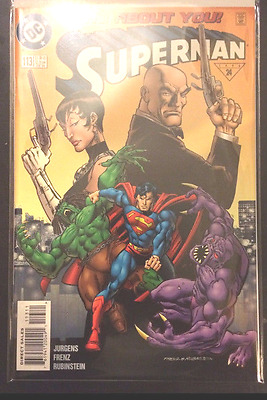 Superman (Vol 2) 113 VF+/NM- 1st Print Free UK P&P DC Comics